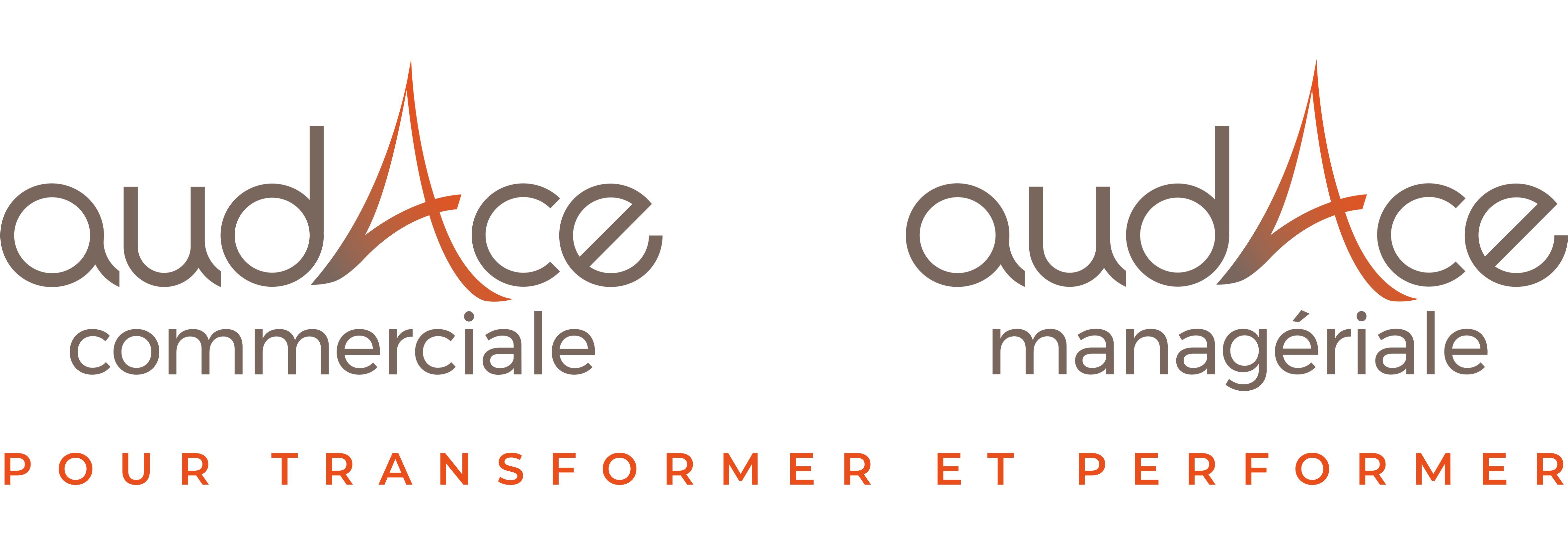 Logos-Audace-Coactance-Audace commerciale