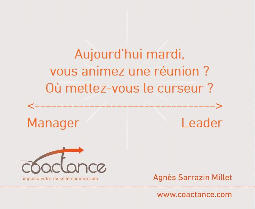 Etes-vous manager ou leader?