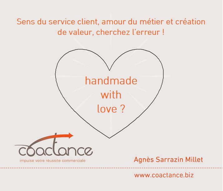 Sens du service client, amour de son métier et création de valeur, cherchez l'erreur !